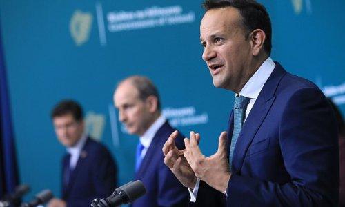 Irish deputy PM Leo Varadkar risks inflaming bitter Brexit row