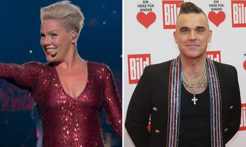 BAZ BAMIGBOYE: Pink and Robbie Williams reveal all in up-close films
