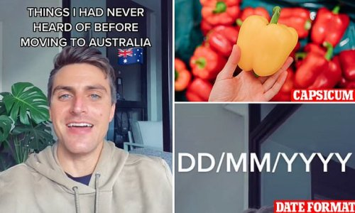 US expat lists things he had NEVER heard of before moving to Australia