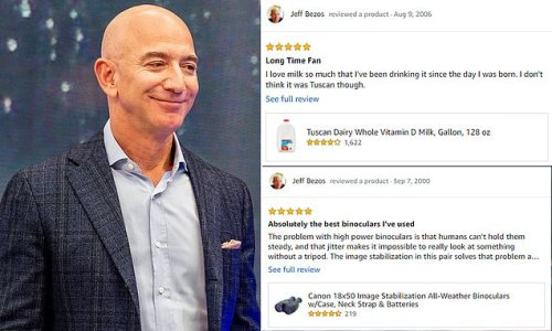 Jeff Bezos' Amazon reviews unearthed giving insight into richest man