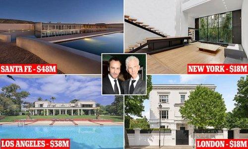 Tom Ford, Richard Buckley amassed global property empire worth $122M
