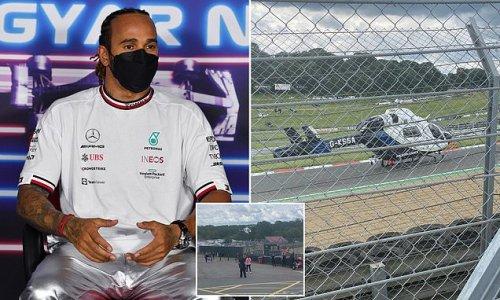 Lewis Hamilton says he is 'devastated' after volunteer marshal died
