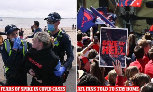 Victorian footy fans urged to stay home ahead of grand final decider