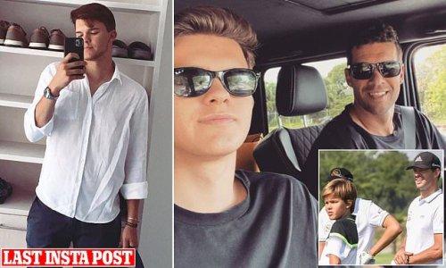 Michael Ballack's son Emilio, 18, 'is killed in a quad-bike crash'