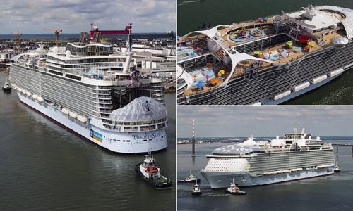 World's largest cruise ship completes sea trials