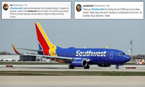 Southwest Airlines GROUNDS all of its planes delaying passengers