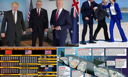 AUKUS submarine deal with sealed at the G7 summit