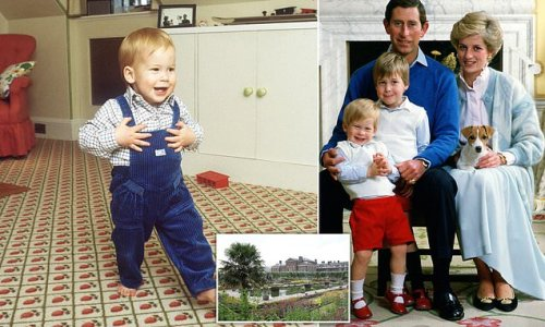 Kensington Palace's gardener remembers Prince Harry playing as a child