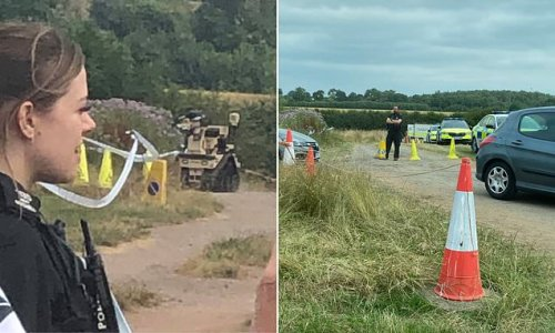 Car boot sale enthusiasts stunned when bomb squad detonate package