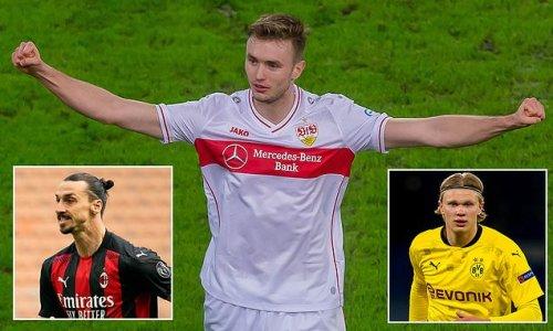 Sasa Kalajdzic - the lowdown on the Dortmund target to replace Haaland
