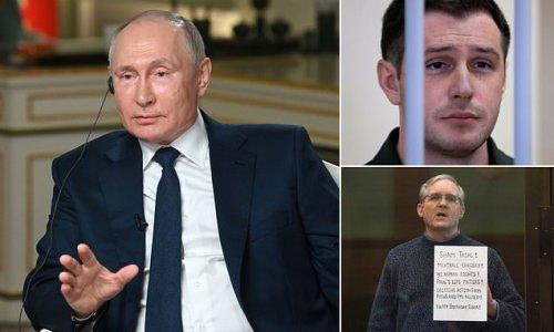 Putin says he's open to discussing prisoner swap with Biden