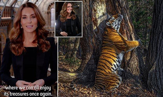 Kate Middleton announces Wildlife Photographer of the Year