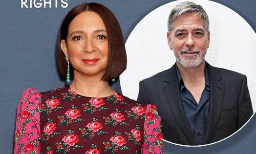 Maya Rudolph recalls awkward moment with George Clooney