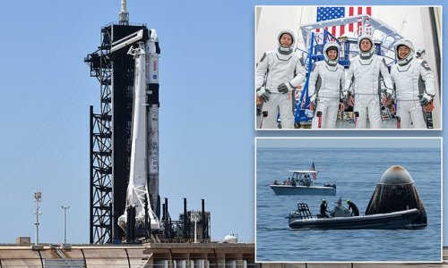 Elon Musk's SpaceX set to fly astronauts for the third time TOMORROW