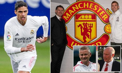 United made an 'impressive' pitch which helped persuade Raphael Varane