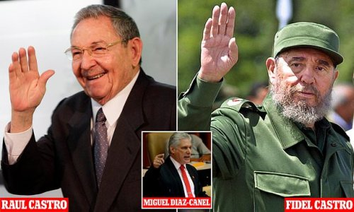 Fidel Castro's brother Raul, 89, will hand power to his president