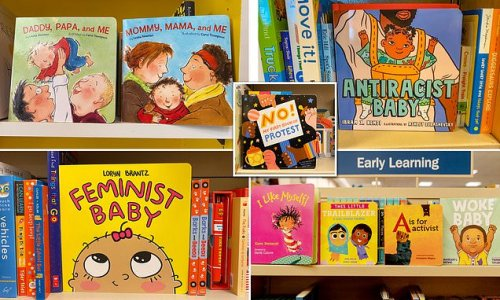 Woke children's books are taking over with titles 'Antiracist Baby'