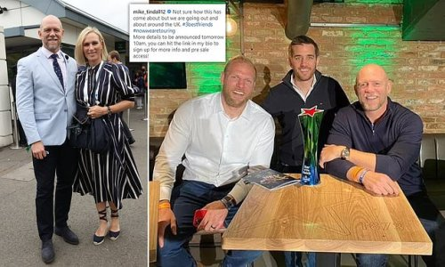 Mike Tindall announces he's going on tour