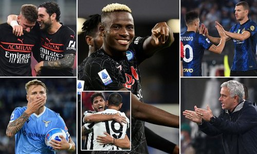Napoli are flying in Serie A but can any of their rivals catch them?