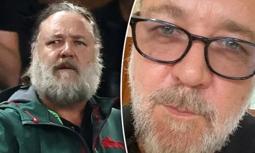 Russell Crowe shaves off 'Zeus' beard after wrapping up filming Thor