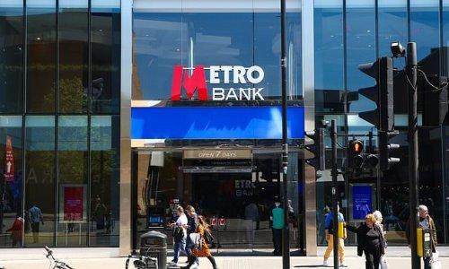 Metro Bank sees customer deposits slip in third quarter