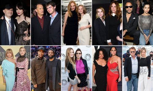 How many Hollywood stars had leg-up from famous parents?