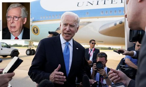 Biden on McConnell SCOTUS threat: He has been 'nothing but a no'