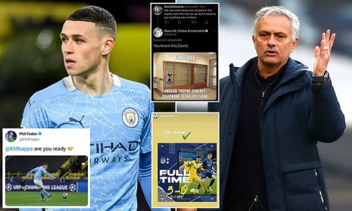 MARTIN SAMUEL: Dulux 'banter' and Foden tweet show social media fakery