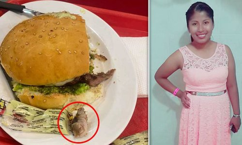 Woman finds rotting HUMAN finger in her hamburger