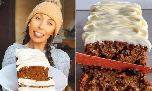 Baker reveals her incredible carrot cake LOAF recipe