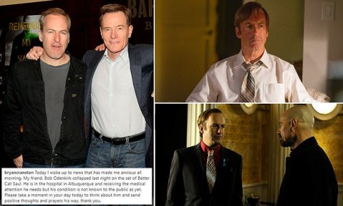 Bryan Cranston asks for prayers after Bob Odenkirk collapses on set