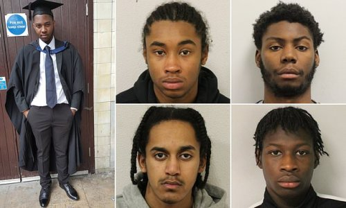 Gang who chased and stabbed NHS worker to death are jailed
