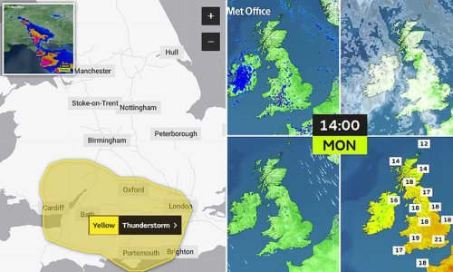 August Heatwave on the way but not before threat of deluges this week