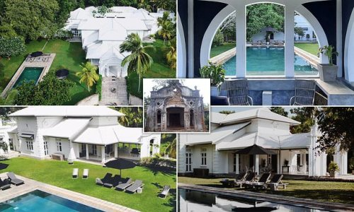 Friends buy £315,000 mansion in Sri Lanka to create luxe holiday villa