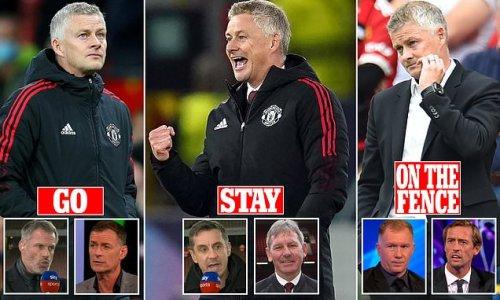 The pundits' verdict on Ole Gunnar Solskjaer's future at Man United