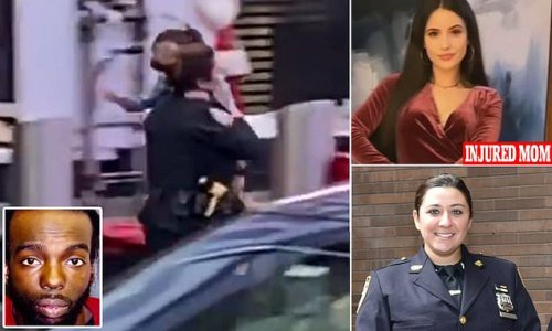 Cop who saved girl, 4, from Times Square shooting speaks out