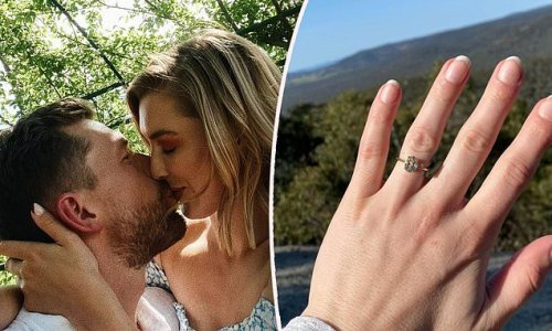 The Bachelor's Alex Nation is ENGAGED to boyfriend Carson Jory