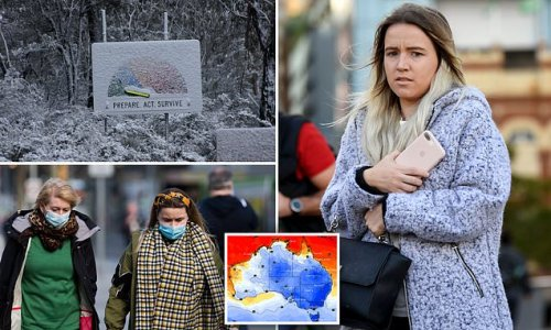 Why the bitterly cold weather in Australia is about to get even WORSE