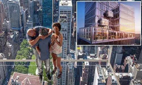 NYC's new tourist attraction takes people 1,210 feet above Manhattan