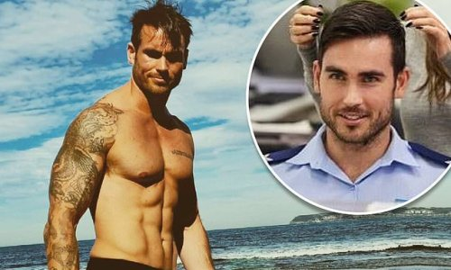 Home and Away's Nicholas Cartwright crashes 'cop car really badly'