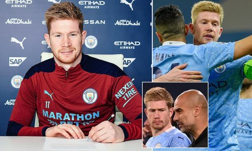 De Bruyne signs four-year City deal to join league's top earners
