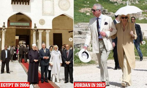 Prince Charles and Camilla will visit Jordan and Egypt next month