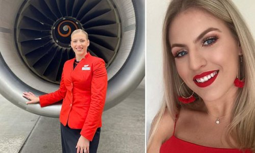 On-call flight attendant reveals her typical morning routine