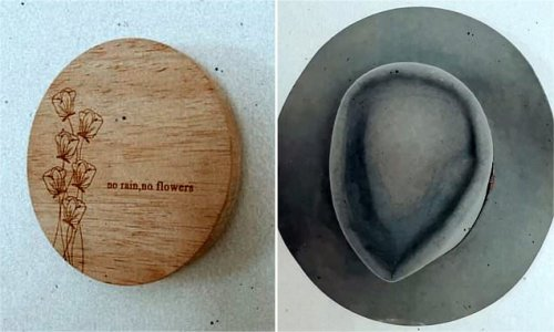 Mum shares her clever trick for re-purposing old wooden candle lids