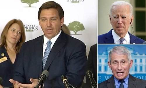 Ron DeSantis says vaccine messaging from Biden and Fauci is TERRIBLE