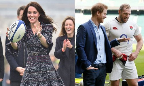 Kate Middleton taking on Prince Harry's patronages of the RFU and RFL