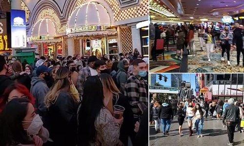 Crowds hit Las Vegas as casinos allowed 50 percent capacity Monday