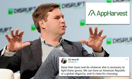 'Hillbilly Elegy' author J.D. Vance quits firm after tweets