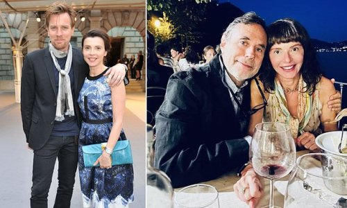 Ewan McGregor's ex-wife Eve Mavrakis is dating composer Jonathan Elias