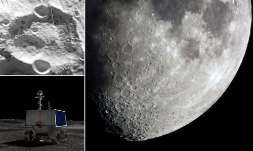 NASA selects a landing site for its 2023 Moon rover mission